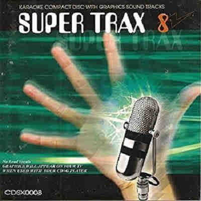 Super Trax Karaoke SX00008 - Front - CDG