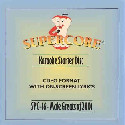 Supercore Karaoke SPC16 - Front CD+G