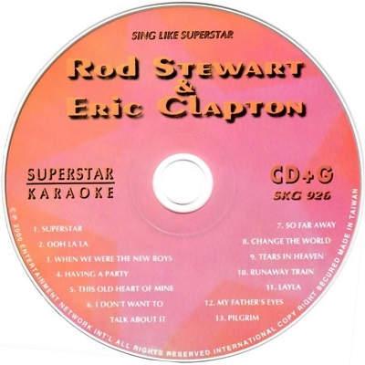 Superstar Karaoke SKG926 - Label - DJ & KJ song books and lists - disc identities