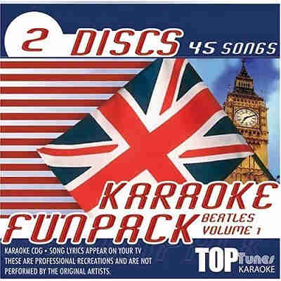 Top Tunes Karaoke - Fun Pack TTFP09 & 10 - Front - DJ & KJ song lists and books