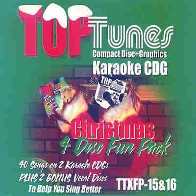 Top Tunes Karaoke - Fun Pack TTFP15-16 - Front - Christmas CDG