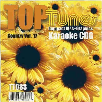 Top Tunes Karaoke - TT083 - Front CDG