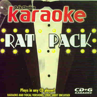 Turn Up The Music Karaoke TUTM1462-2 - Front - Rat Pack - DJ & KJ song books and lists