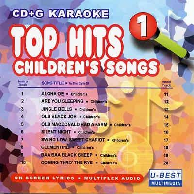 U-Best Karaoke Demo UBGDM004 - Front - DJ & KJ song books and track lists