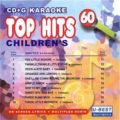 U-Best Karaoke UBG060 - Front - CD+G Discs