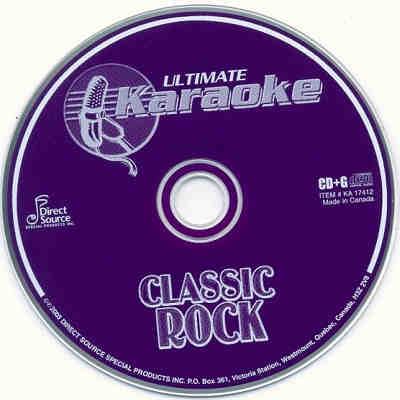 Ultimate Karaoke Disc UKA17412 - Label CD+G