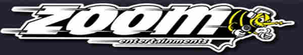 Zoom Karaoke Logo and banner - DJ & KJ song books and track lists with disc identities
