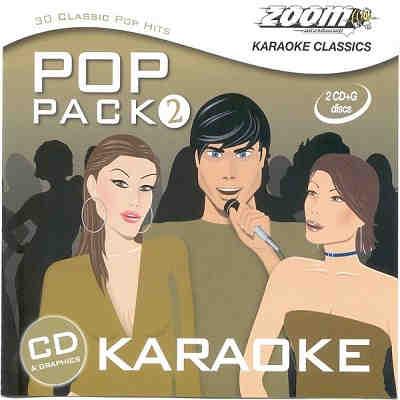 Zoom Karaoke Pop Packs ZMPP02 - Front disc identities