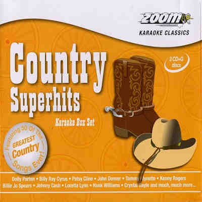 Zoom Karaoke Superhits ZMCSH - Front Country DJ & KJ song books and track lists