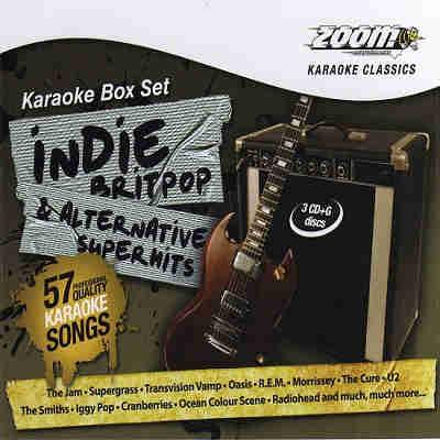 Zoom Karaoke Superhits ZMISH - Front CDG
