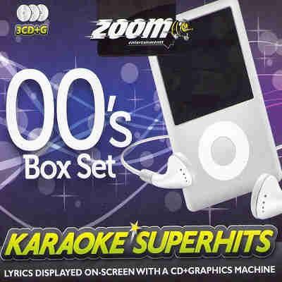 Zoom Karaoke Superhits ZSH004 - Box - Front CD+G