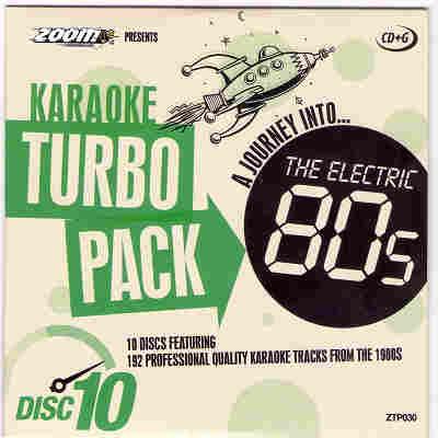 Zoom Karaoke Turbo Packs ZTP030 - Front CD+G