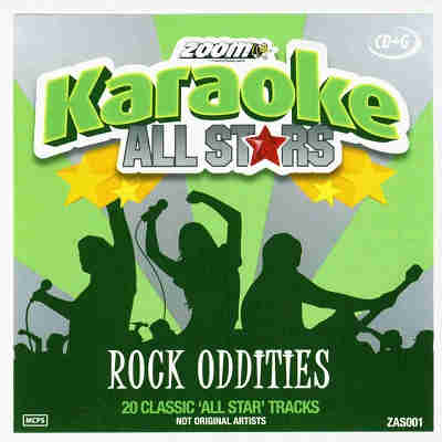 Zoom Karaoke Vocal Stars ZMVS001 - Front - CDG