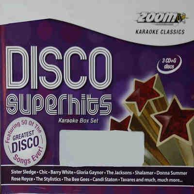 Zoom Karaoke ZMDSH - Front Disco CDG