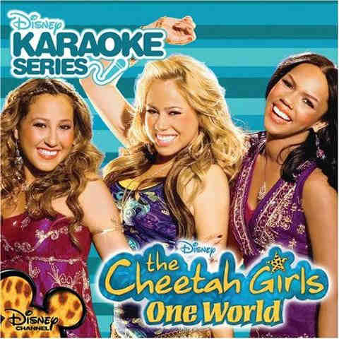 Disney Karaoke The Cheetah Girls DISCHTHG1