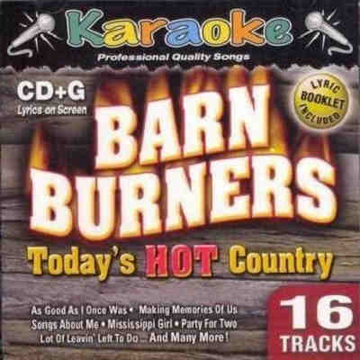 Karaoke Bay - Barn Burners - hot country
