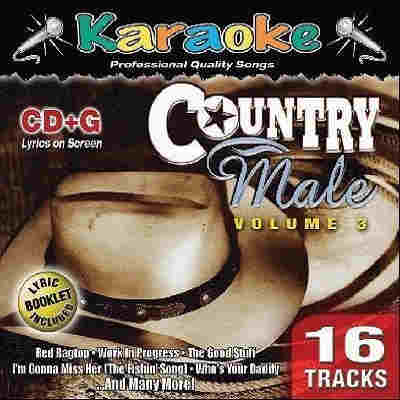 Karaoke Bay - Male Country Volume 3