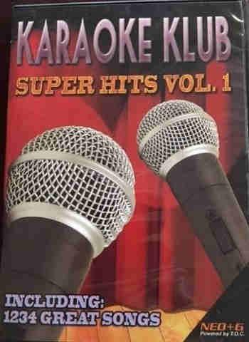 Karaoke Klub Super Hits Volume 1 - cdg dvd