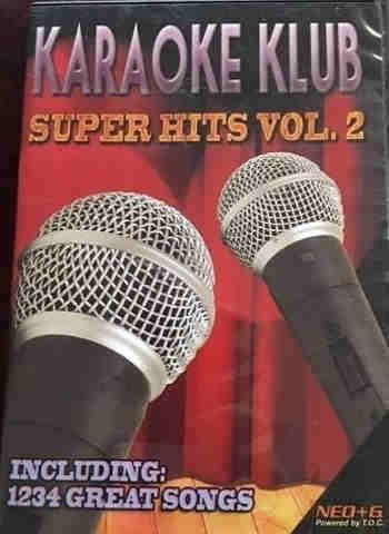 Karaoke Klub Super Hits Volume 2 - cdg dvd