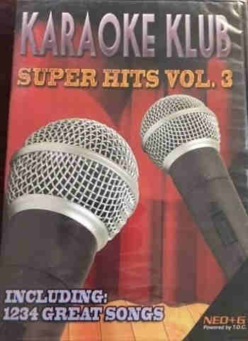 Karaoke Klub Super Hits Volume 3 - cdg dvd