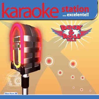 Karaoke Station cdg disc - rock and roll volume 2