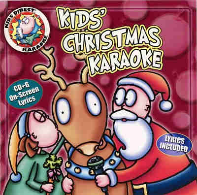 Kids Direct Karaoke - front cover KDK26942 - Christmas songs