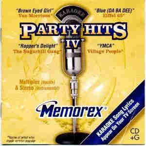 Memorex karaoke discs - party hits 4