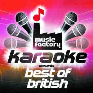 Music Factory Karaoke - Best Of British - Logo