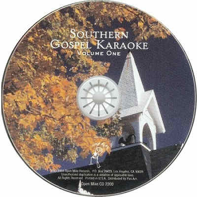 Open Mike Karaoke Series - OPM2200 disc