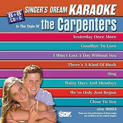 Singers Dream karaoke SDK9003 - KJ song lists