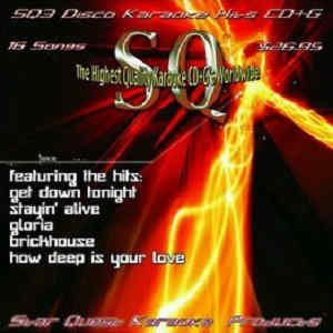 Star Quest Karaoke SQ0003 - Disco tracks