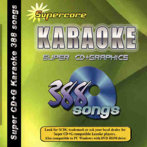 Supercore Karaoke Super cdg