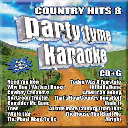 Sybersound Karaoke Country Hits 8
