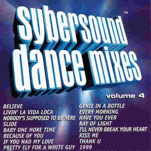 Sybersound Karaoke Dance Mixes Volume 4