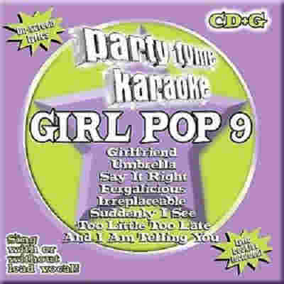Sybersound Karaoke Girl Pop 9