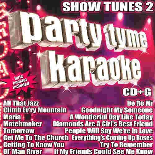 Sybersound Karaoke Show Tunes 2
