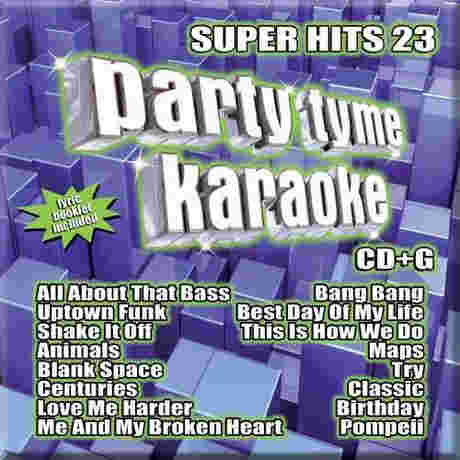 Sybersound Karaoke Super Hits 23