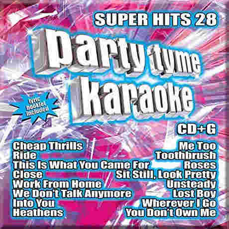 Sybersound Karaoke Super Hits 28
