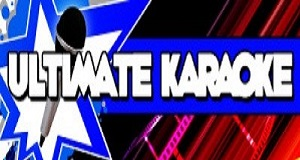 Ultimate Karaoke - logo blue and red