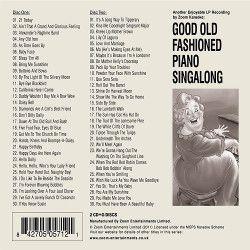 Zoom Karaoke Piano Singalong Back
