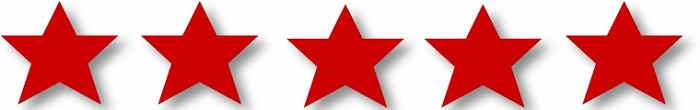 Rate Karaoke - red stars rating system karaoke disc rating system
