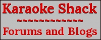 About us: Join the Karaoke Shack forums today. All the old and new karaoke disc releases are here