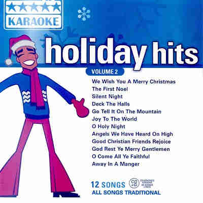 Five Star Karaoke - Holiday Hits - FSK2-17 Front cover