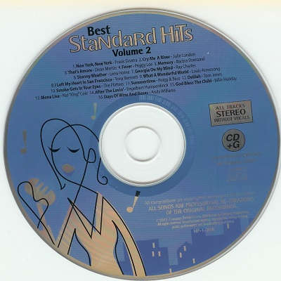 House Party Karaoke - best standard hits - HPK1-21R disc