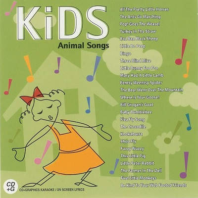 House Party Karaoke - Kids Animal Songs - HPK1-25 Front