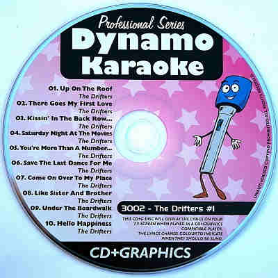 Dynamo Karaoke - DYN3002 - Label - Karaoke Shack song books