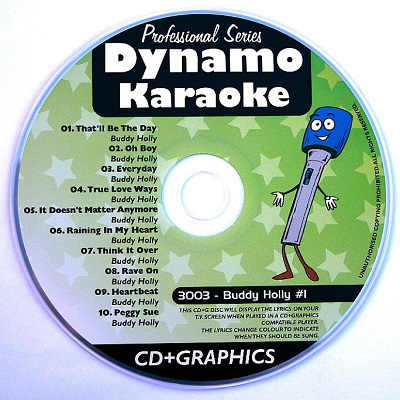 Dynamo Karaoke - DYN3003 - Label - Karaoke Shack rare labels