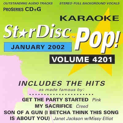 StarDisc Karaoke SD4201 - Front Star Disc KJ song books